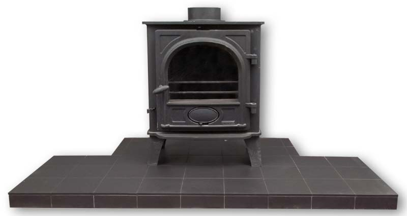 Fireplace hearths made from quarry tiles fireplace tiles standard matt black quarry tile hearth quarry tile hearth for a stove tyukafo