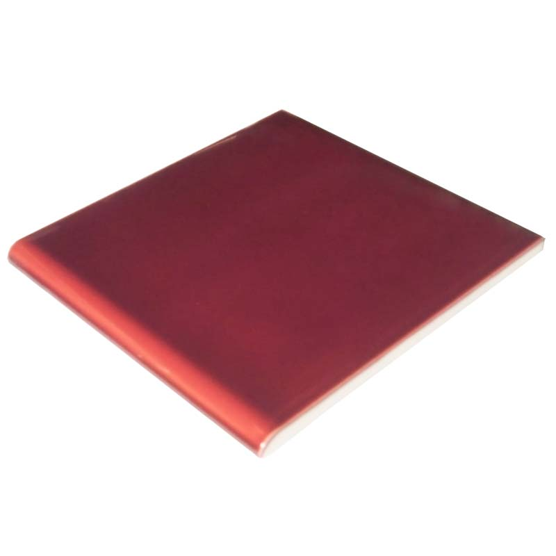 Single rounded edge (RE) 6 inch tile | Fireplace Tiles